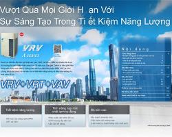 Máy Lạnh Trung Tâm Daikin VRV A (2018) Công Nghệ Tối Ưu